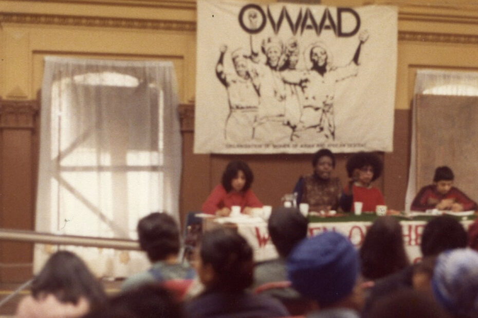 Image from the first OWAAD conference (1979)